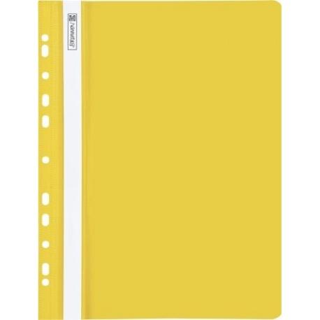Chemise à lamelles perforée jaune