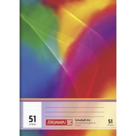 Cahier scolaire A6 ligné 48p