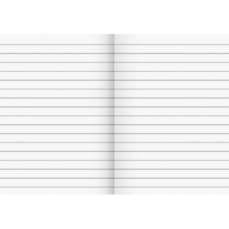 Cahier scolaire A6 ligné 64p motifs