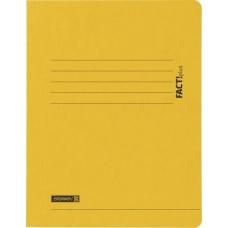 Chemise carton 3-rabA4 FACT! jaune