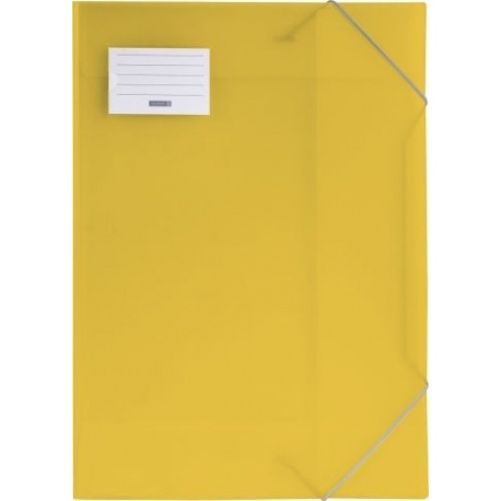 Chemise 3-rabats A3 FACT!pp jaune