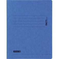 Chemise carton 3-rabA4 FACT! bleu