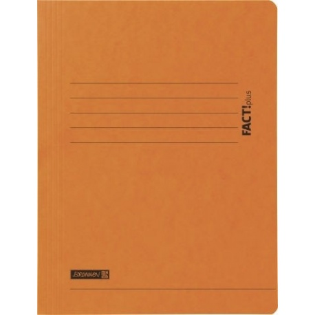 Chemise carton 3-rabA4 FACT! orange