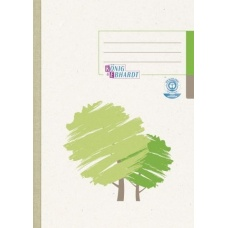 Cahier A5 5x5 192p recycl.