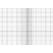 Cahier broché A6 5x5 96f rigide
