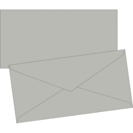 Enveloppe DL doubl. gr 10pc