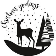 Tampon Christmas Greetings
