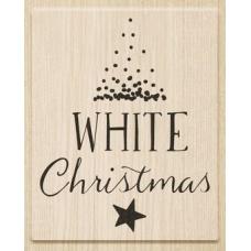 Tampon White Christmas
