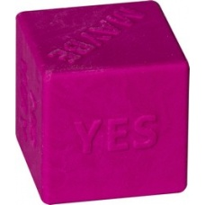 Gomme Dé pink