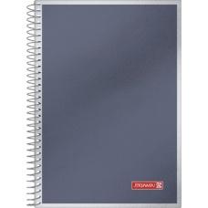 Cahier spir.A5 100fPr Metallic