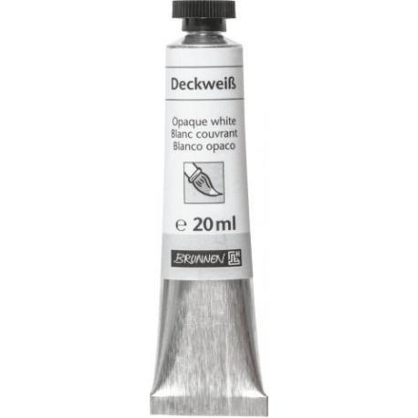 Gouache blanche en tube 20 ml