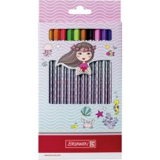 Gros crayon de couleur 12pces Fantasy Me