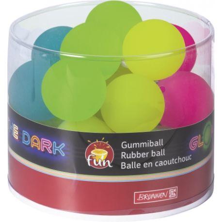 Balle rebondissante Flummi glow in the d