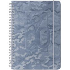 Agenda scolaire A5PP Camouflage grey18M