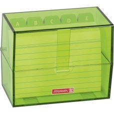 Boîte à fiches A7 remplie kiwi