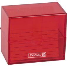 Boîte à fiches A8 ColourCode red