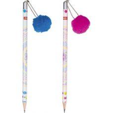 Crayon à papier avec pompon