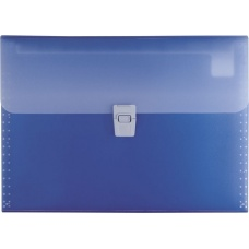 Trieur A4 FACT!pp 10 compart bleu