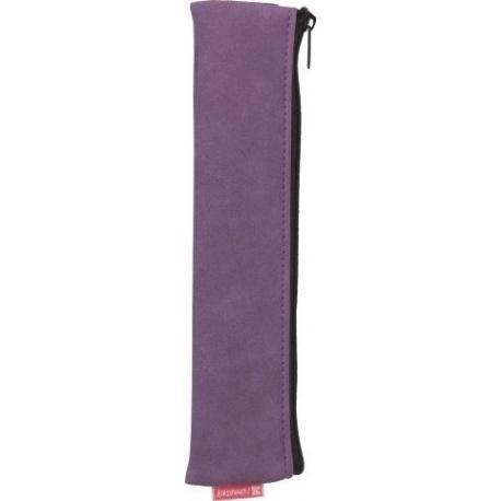 Fourre-tout fermeture élastique purple