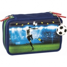 Trousse garnie 3 zips Football