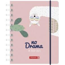 Agenda scolaire 1j/p A6 PP Lama
