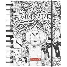 Agenda scol.12x16cm PP 1p/j Zen-Art