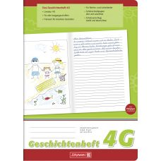 Cahier de narration A4 n°4G 32p