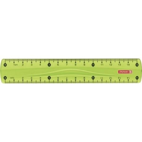 Règle 15cm ColourCode kiwi