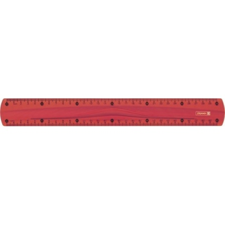 Règle 30cm ColourCode red