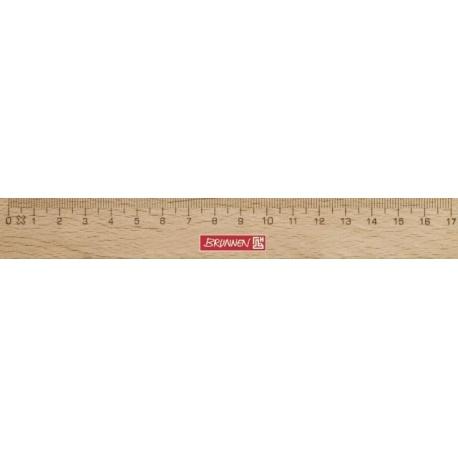 Règle en bois 17cm