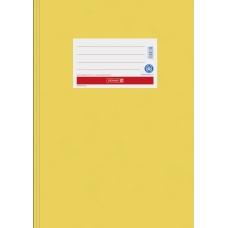 Protège-cahier A4 papier jaune or