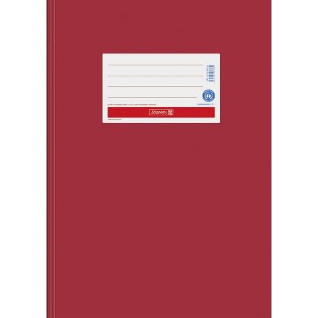Protège-cahier A4 papier rouge vif