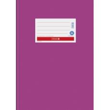 Protège-cahier A4 papier rose vif