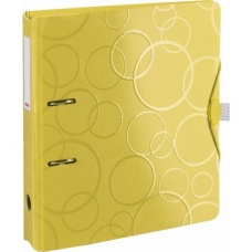 Classeur PP 5cm jaune