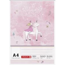 Bloc à dessin A4 100f Princesse