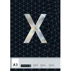Bloc dessin A3 Xtreme 100g 20f