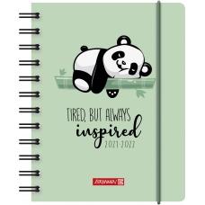 Agenda scolaire 1j/p A6 PP Panda