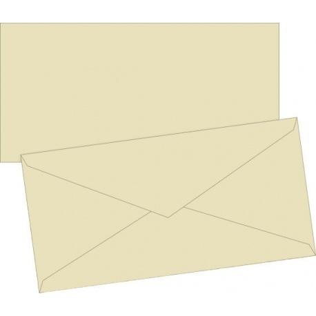 Enveloppe DL doubl. cha 10pc