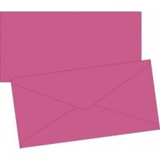 Enveloppe DL doublée fuch 10pc