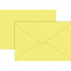 Enveloppes C6 80g jau 10pc