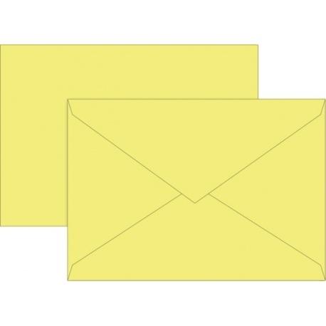 Enveloppe C6 80g jau 10pc