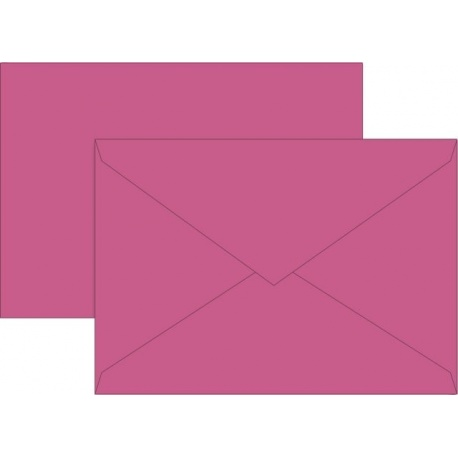 Enveloppe C6 80g fuch 10pc