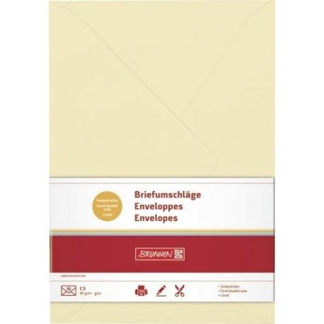 Enveloppe C5 doubl. cha 10pc