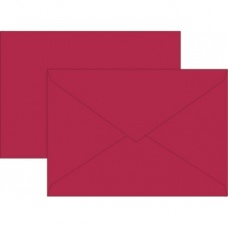 Enveloppe C5 doublée rou 10pc