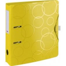 Classeur à levier poly.7cm jaune