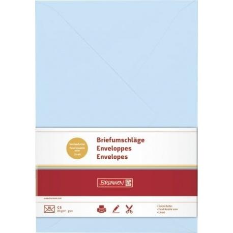 Enveloppe C5 doubl. blcl 10pc