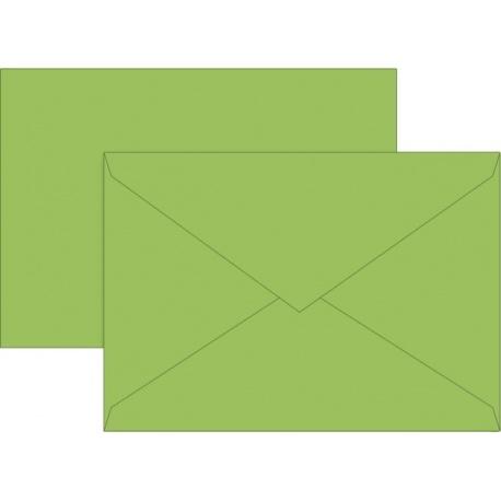 Enveloppe C5 doublée verc 10pc