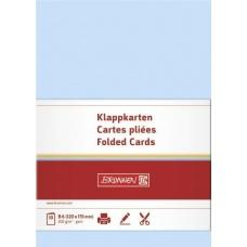Carte double B6 200g blcl 10pc