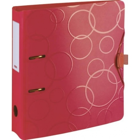 Classeur poly. 7cm red