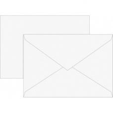 Enveloppe B6 80g bla 10pc